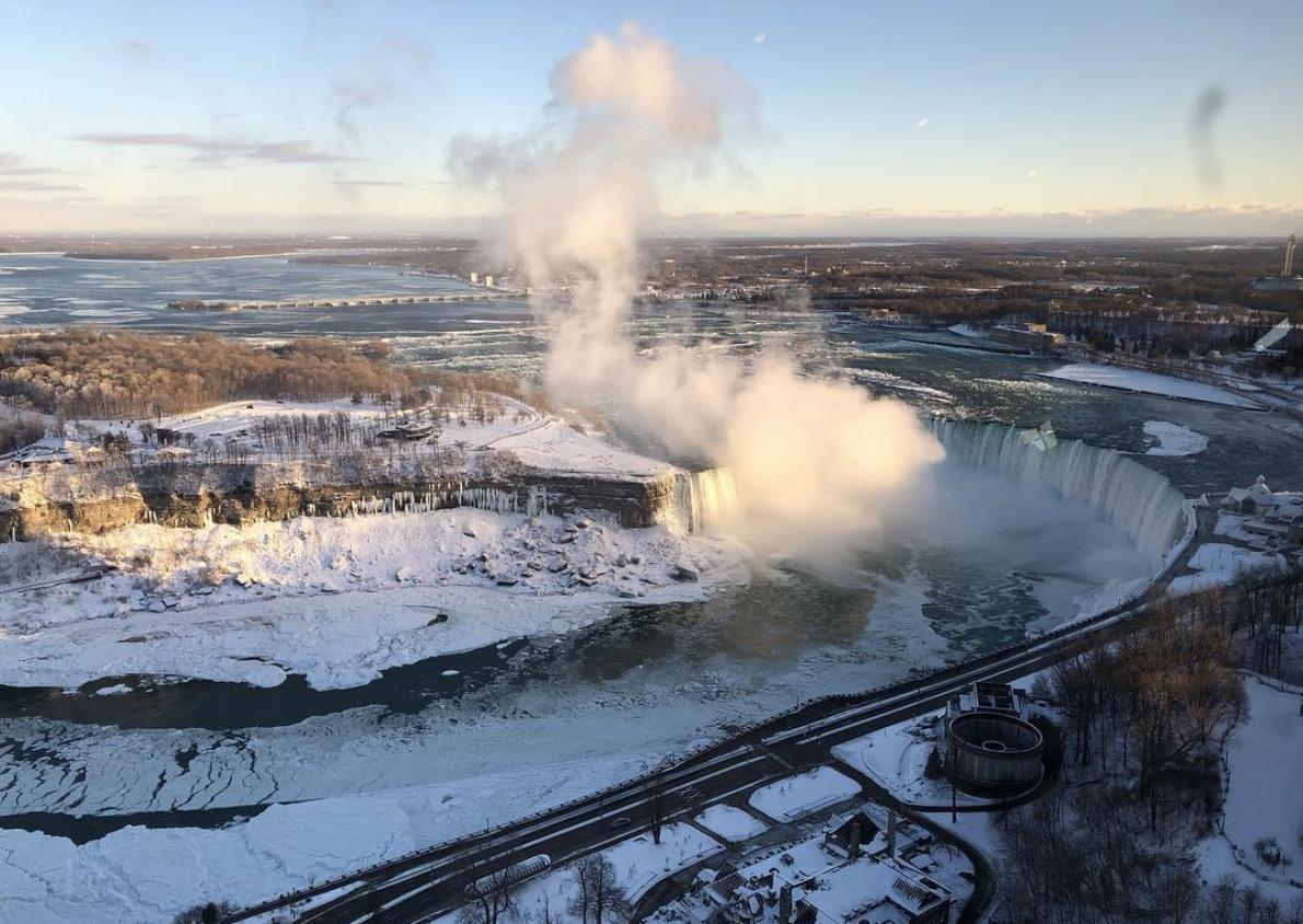 Photos: Niagara Falls transforms into majestic winter