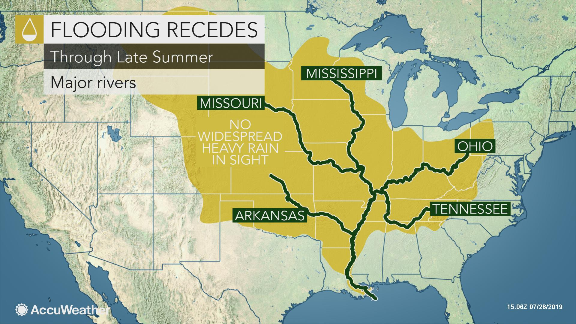 mississippi river world map Lower Mississippi River To Fall Below Flood Stage After Nearly 7 mississippi river world map