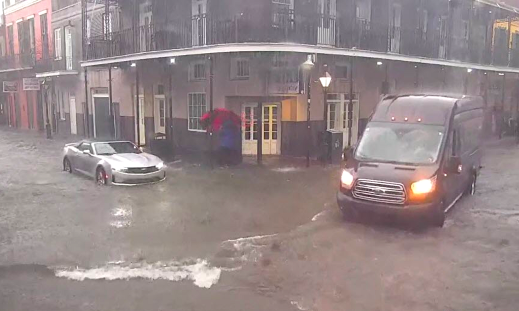 New Orleans left underwater as city races to prepare for