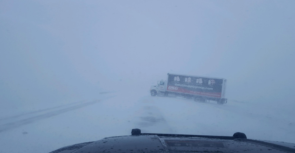 LIVE: Low visibility, difficult travel remain threats in