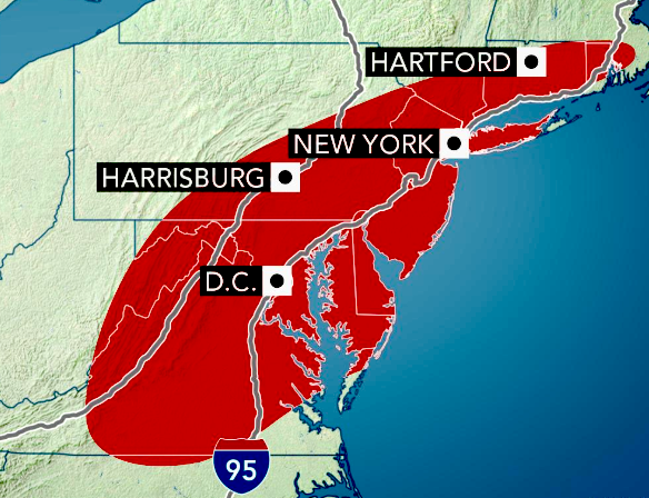 Severe storms, flooding downpours to wipe away heat from northeastern US