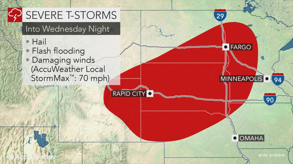 Big storms may slow 4th of July travel into Wednesday night