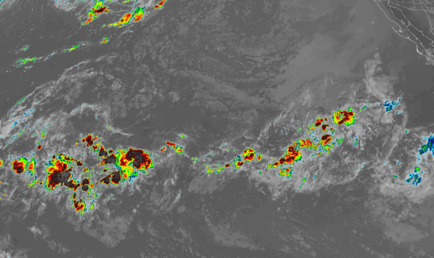 Tropical disturbance southeast of Hawaii bears watching