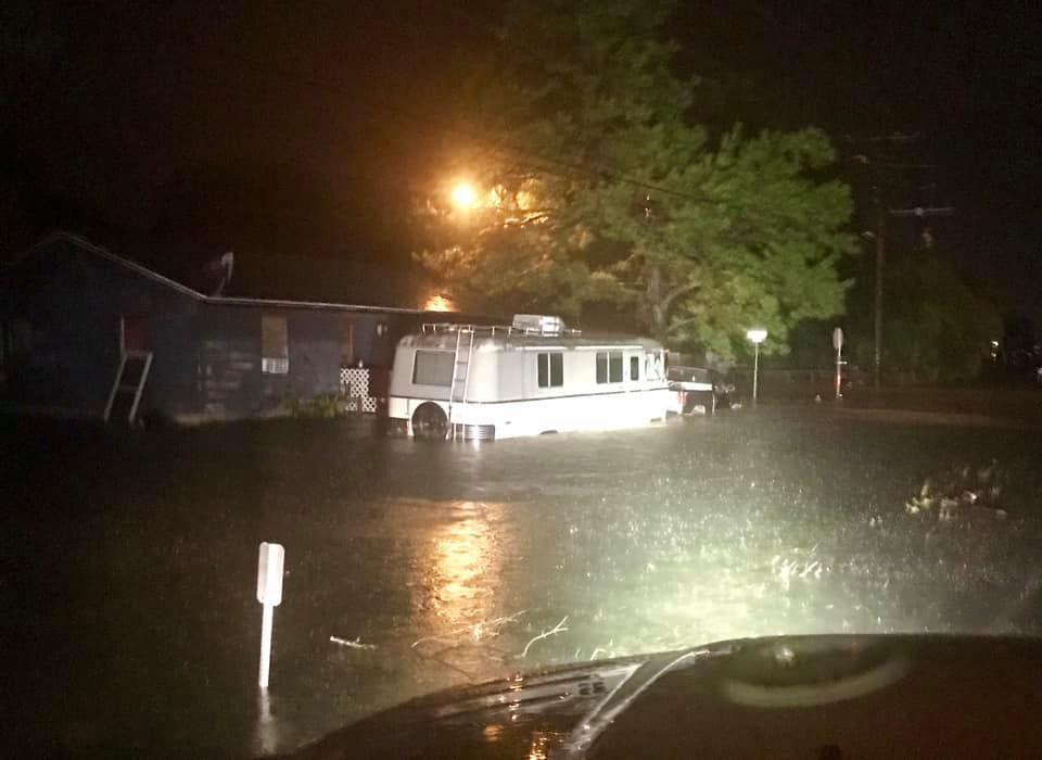 Water rescues underway as Imelda's catastrophic flooding devastates parts of southeastern Texas