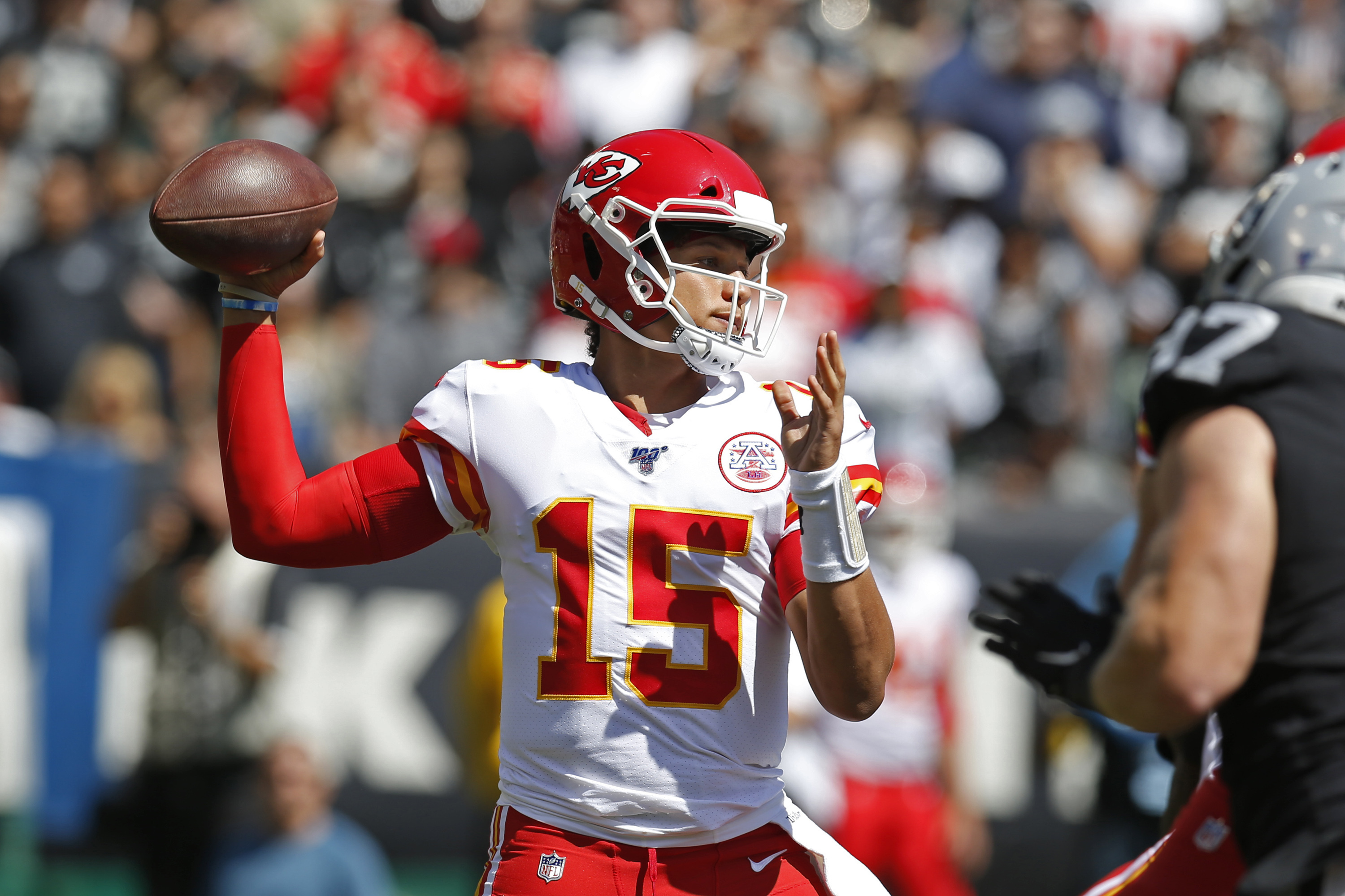 NFL week 3: Rain to create sloppy conditions in Kansas City, Seattle