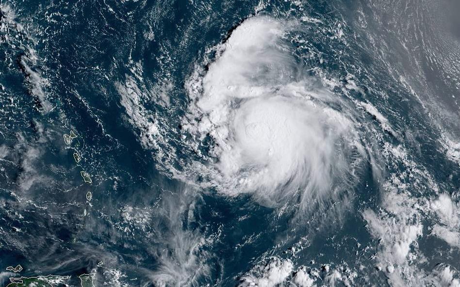 Hurricane Jerry to strengthen as it nears Caribbean islands