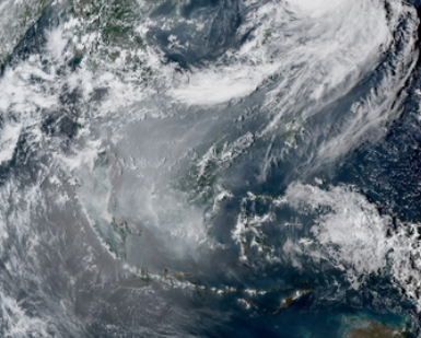 Thousands of Indonesia fires produce thick haze across Southeast Asia as dry weather persists