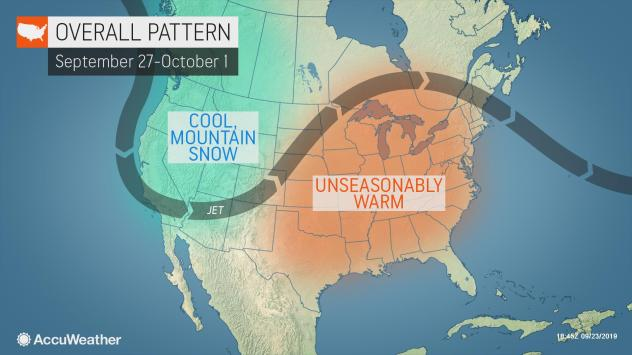 1st snowstorm of season eyes northern US, southern Canada USLateSept