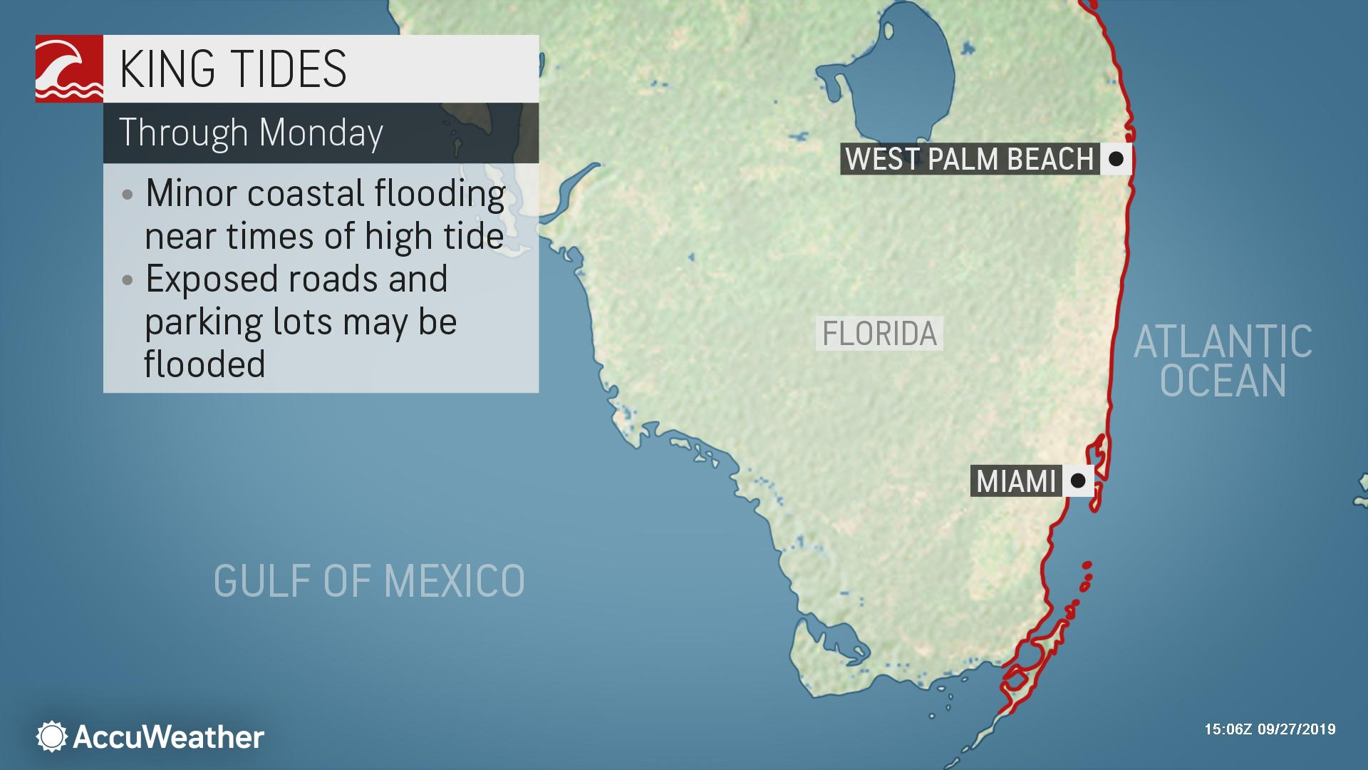 King Tide causing record flooding in coastal South Florida ...