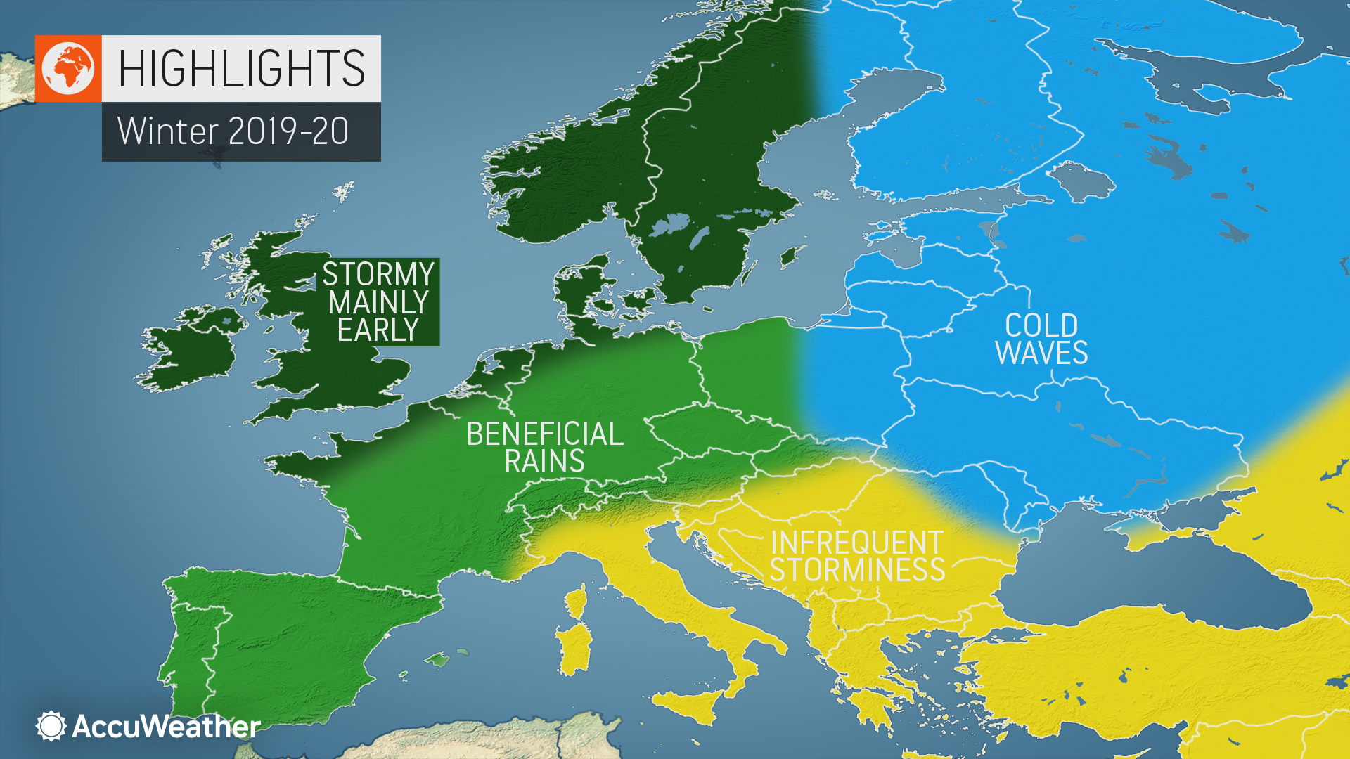 Signs Of A Bad Winter 2019 2020.Accuweather S 2019 2020 Europe Winter Forecast Accuweather S
