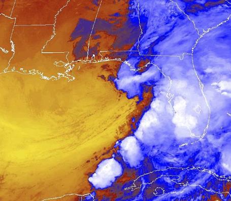 Tropical Storm Nestor hours away from Florida landfall