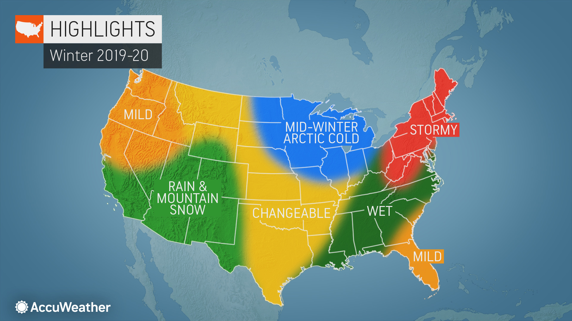 Which places can expect another snowy winter? AccuWeather's