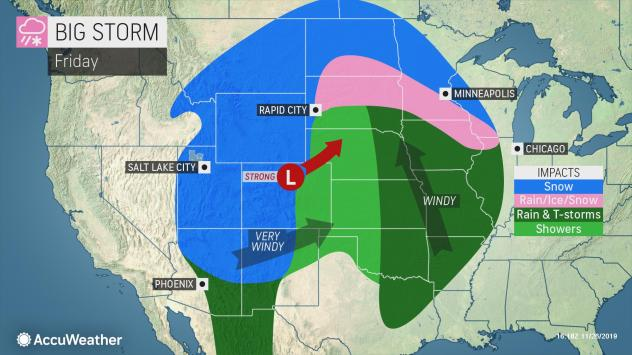 Black Friday 2019 weather forecast: Mother Nature to give