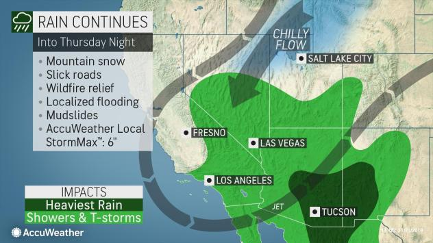 Soaking storm brings dangerous flash flood risk to ...