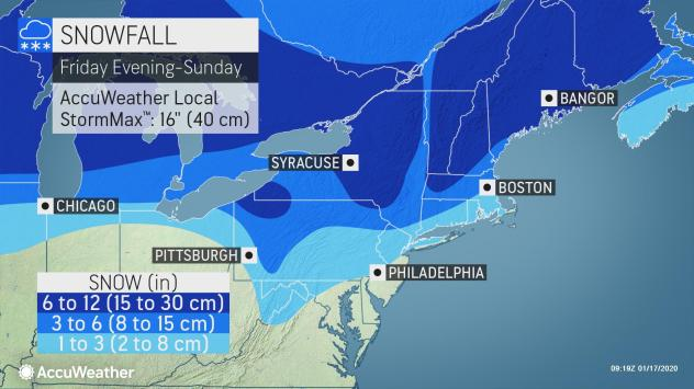 noaa philadelphia snow map Nyc Philly And Dc Put On Snow Notice As Winter Storm Barrels East noaa philadelphia snow map