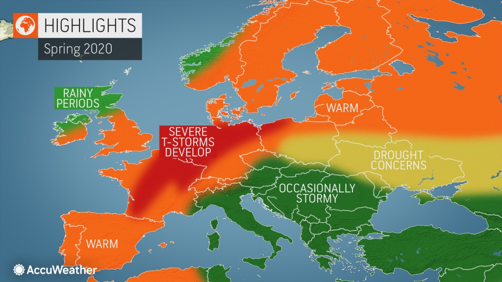 AccuWeather's 2020 Europe spring forecast | AccuWeather