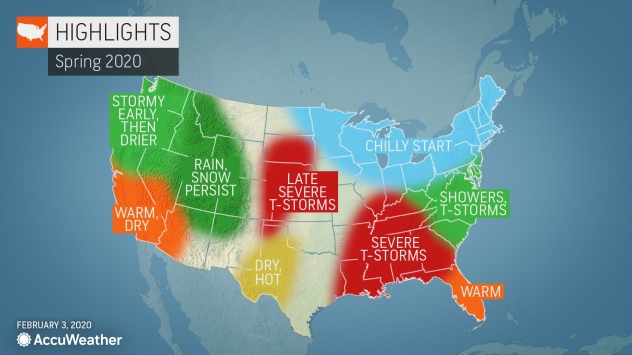 severe weather map us Rounds Of Severe Weather Tornadoes To Persist Into May Accuweather