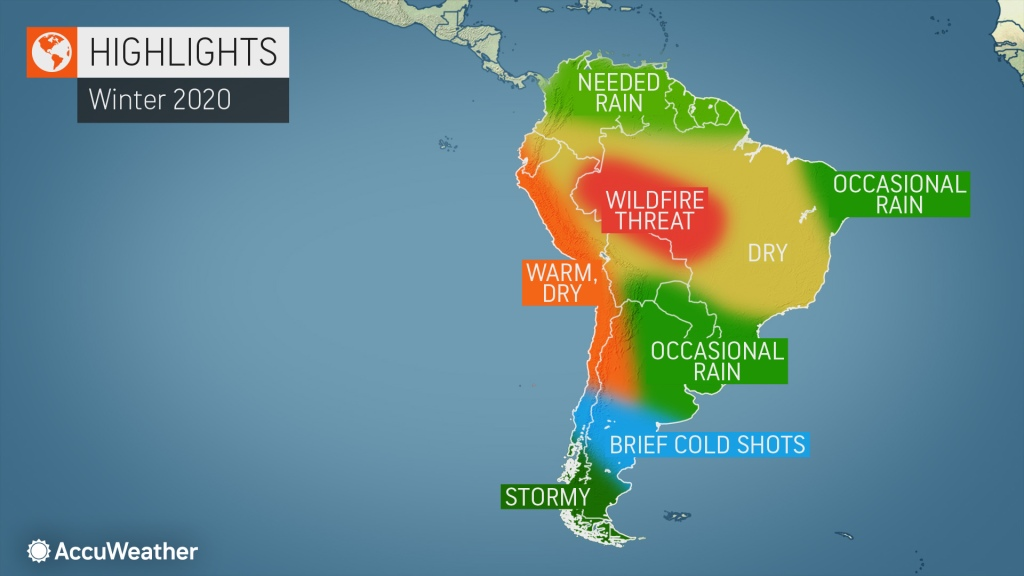 Accuweather S 2020 South America Winter Forecast Accuweather