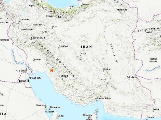 16 People Injured Following 5 1 Magnitude Earthquake In Iran Accuweather