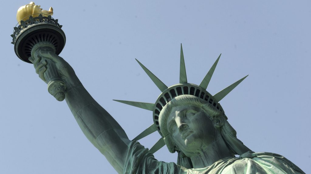 The changing face of Lady Liberty