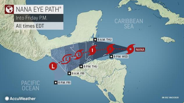 Budding Caribbean Tropical Storm To Eye Central America Accuweather