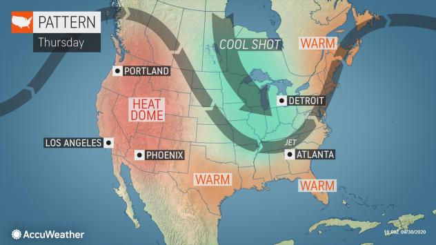 Grab Your Sweaters November Like Weather Is On The Way For The Midwest Accuweather