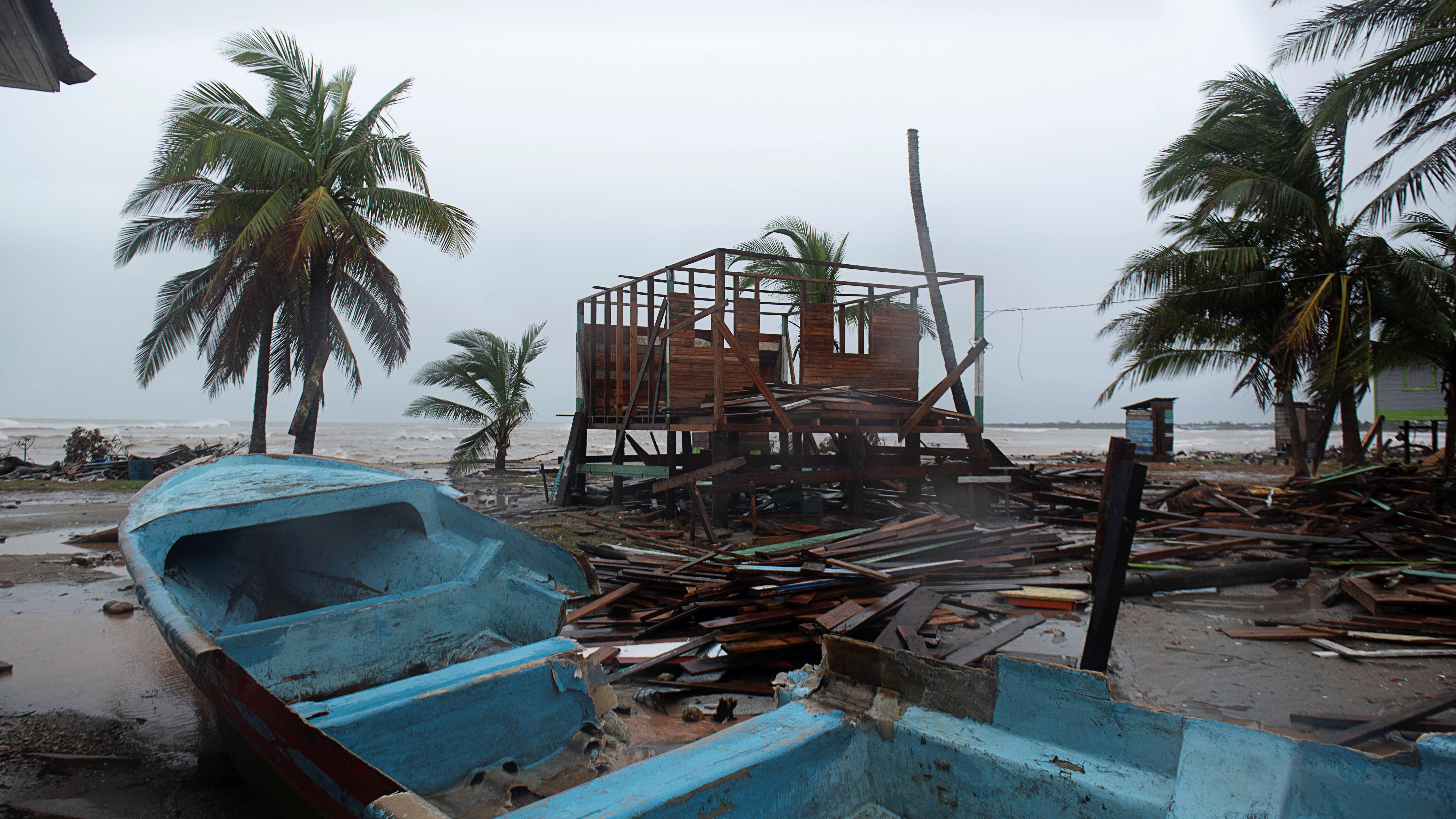 Iota makes landfall in Nicaragua as monster Category 4 hurricane
