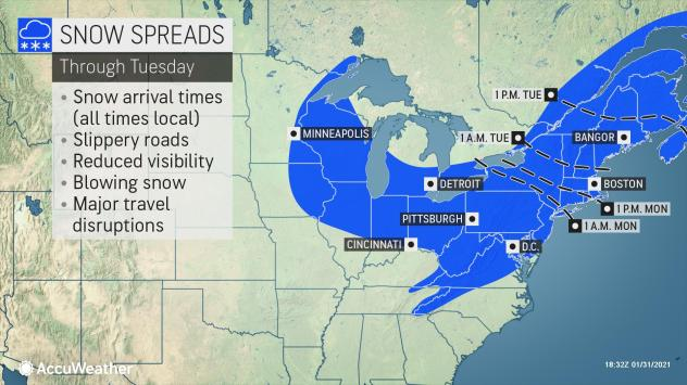 , Blizzard conditions eye New York, Boston as nor'easter bears down, Forex-News, Forex-News