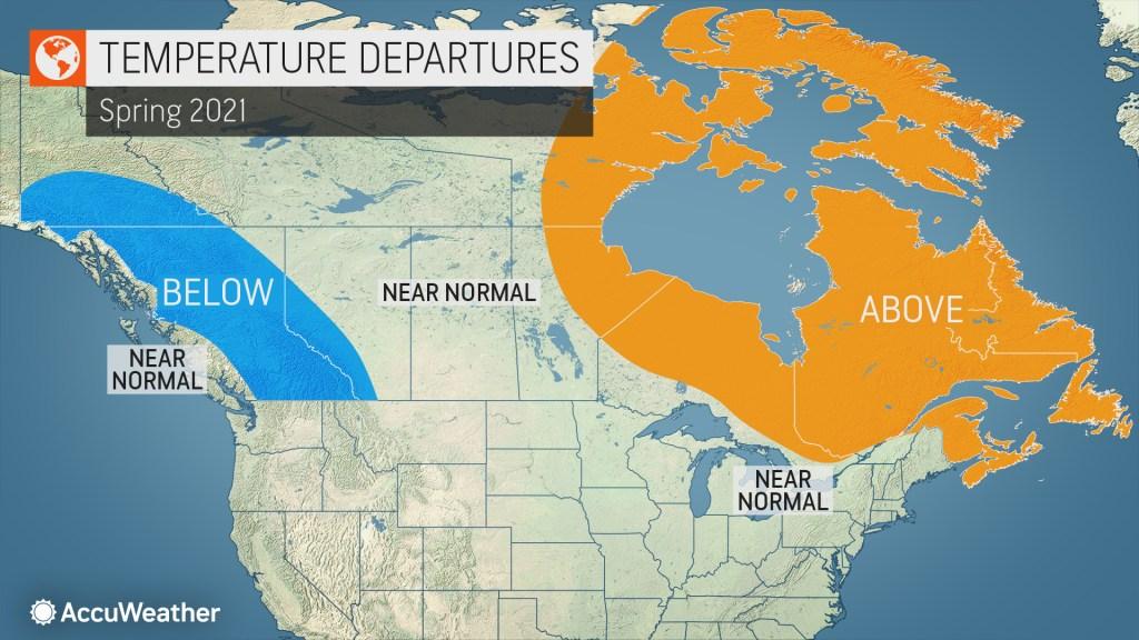 AccuWeather's 2021 Canada spring forecast