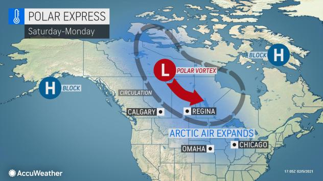 Image result for polar vortex 2021