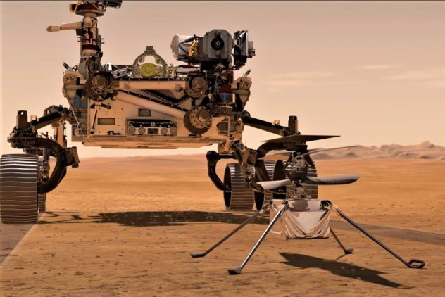 NASA's Mars Helicopter May Fly As Early As April 8 | AccuWeather