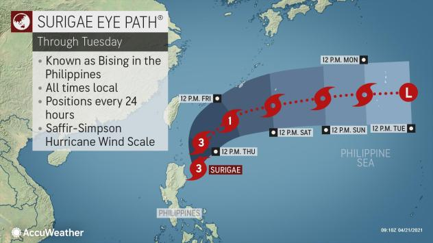 , Deadly Typhoon Surigae leaves flooding, damage behind in Philippines, Forex-News, Forex-News