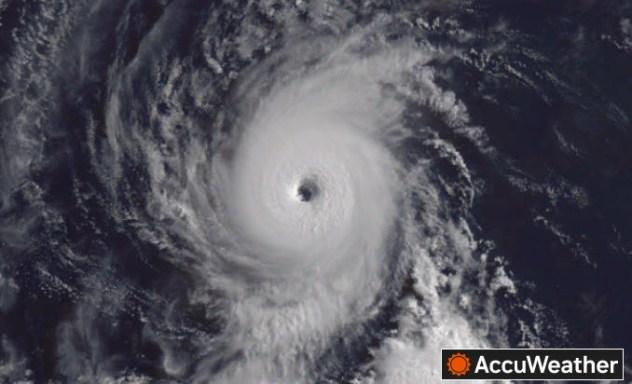 Hurricane Felicia Satellite 7/16