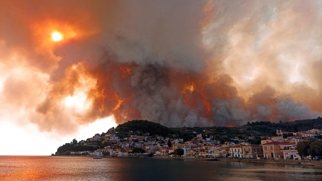 Wildfires Record Heat Wave Europe Athens Turkey | AccuWeather