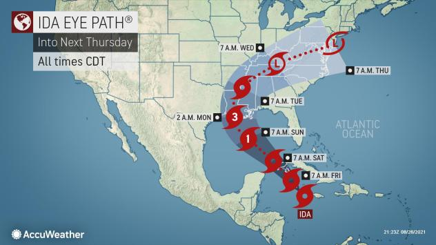 Tropical Storm Ida forms, could hit US Gulf Coast as major hurricane