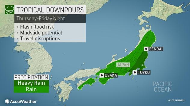 Typhoon Mindul will deal a blow to Japan
